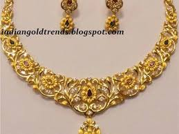 indian gold jewellery necklace designs 7 pictures to pin