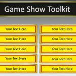 game show powerpoint template free free quiz show game template