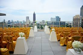 wedding venues atlanta top 5 rooftop wedding venues in ventanas 004 the