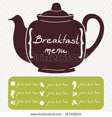 breakfast menu cover template cafe coffee stock vector 167329034