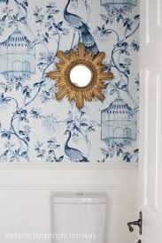 Wallpapered Bathrooms Ideas Inside A Home That Expertly Mixes Tradition And Full On Fun