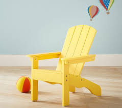 Yellow Plastic Adirondack Chair Bright Yellow Adirondack Chair Pottery Barn Kids
