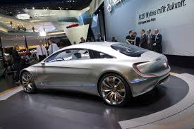 iaa 2011 mercedes benz looks two generations ahead with f 125