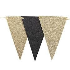 black and gold decorations