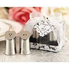 salt and pepper wedding favors heart shaped silver salt and pepper wedding favors lovetoknow