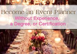 how to become a party planner event planner courses