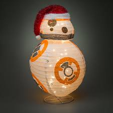 wars bb 8 lighted lawn ornament thinkgeek