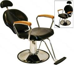 Reclining Styling Chair Reclining All Purpose Hydraulic Styling Chair With Natural White