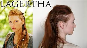 lagertha lothbrok hair braided vikings hair lagertha youtube