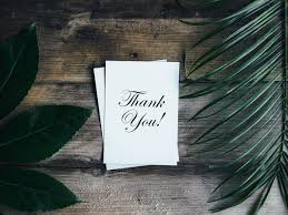 Thank You Letter After Sponsorship Meeting thank you notes wedding thank you wording