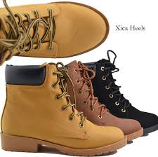 womens tactical boots australia s ankle boots lace up faux combat work boot style