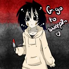 creepy kawaii background drawn jeff the killer creepypasta wiki pencil and in color drawn