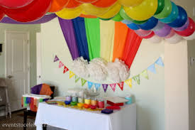 Decoration Ideas For Birthday Party At Home Decor Top Balloon Birthday Decoration Room Design Plan Amazing