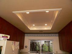 Kitchen Can Lights by Another Tray Ceiling Recessed Lighting Idea To Replace The