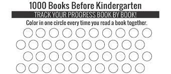 creating readers 1000 books before kindergarten