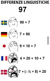 Denmark Meme - to those who complain about counting in french i raise you this