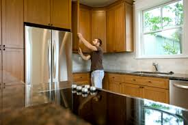 Kitchen Cabinet Knob Placement Kitchen Cabinet Hardware Placement Ideas Hunker