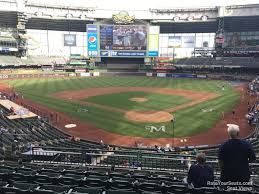 Miller Park Seating Map Miller Park Section 219 Rateyourseats Com