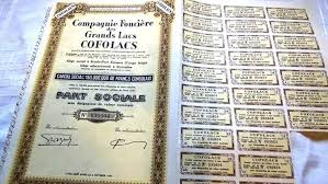 si e social bruxelles collection of 23 ancient shares of africa 1 trust colonial