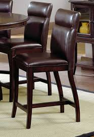 Hillsdale Nottingham Round Counter Height Dining Table DTBG - Counter height dining table swivel chairs