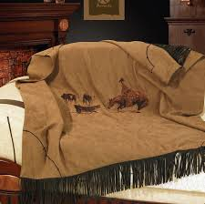 western throws for sofas hxws3195th cutting horse western embroidered throw blanket