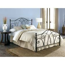Black Wrought Iron Bed Frame Wrought Iron And Wood Bedroom Sets Metal Black Bed Frame Features
