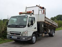 mitsubishi canter three way tipper