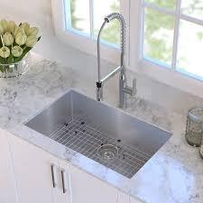 Stainless Steel Kitchen Sinks Undermount Reviews Lovely Kraus 30 X 18 Undermount Kitchen Sink Reviews Wayfair On