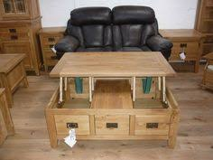 Vancouver Oak Coffee Table - newark natural solid oak coffee table with storage popular
