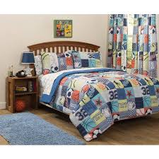 Mainstays Bedding Sets Mainstays Kids Play Like A Champion Bed In A Bag Bedding Set