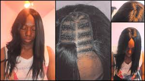 weave hairstyles with middle part side weave middle picture this what invisible part looks medium