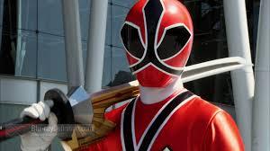power rangers super samurai red ranger information
