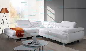 canapé cuir convertible pas cher canapé d angle convertible avec coffre en simili cuir blanc damien