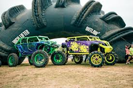 outlaw monster truck show utv action magazine high lifter mud nationals