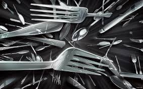 fond ecran cuisine fond d écran 3d image hd fourchette ustensile de cuisine wallpapers