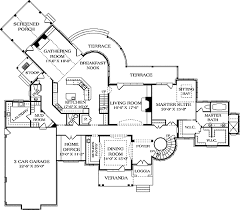 plan 17672lv spacious french country chateau french country