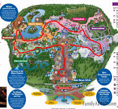magic kingdom disney map familyadhd orlando family travel guide 2015 day 2 magic kingdom