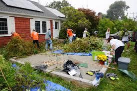 volunteers figure big in big fix falmouth briefs capenews net