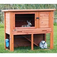 Rabbit Hutch Ramp Trixie Rabbit Hutch With Sloped Roof Medium 40 75