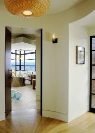 recessed baseboards baseboard designs bathroom modern with wood veneer brass tub radius