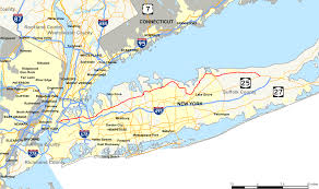 Printable Map Of New York City by New York State Route 25a Wikipedia