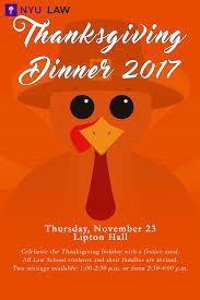 nyu school of thanksgiving 2017 the docket