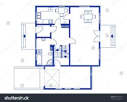 100 blue prints for a house floor plan for two story house