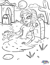 monster high u2013 coloring pages u2013 original coloring pages