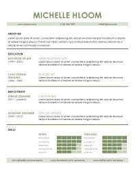 sample of modern resume contemporary advice 3 self promo by sara