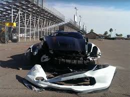 corvette car crash proves corvette stingray owner committed insurance fraud