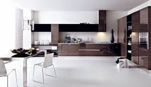 Flat Kitchen Cabinets Cabinets U0026 Drawer Brown Gloss Flat Kitchen Cabinets Design