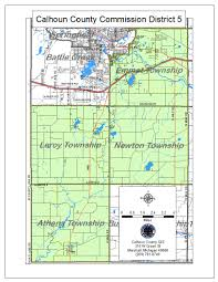 Michigan Township Map by Calhoun County Clerk And Register Of Deeds
