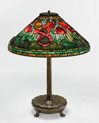 dale tiffany dragonfly lily table l tiffany studios poppy table lamp shade impressed tiffany studios