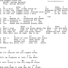 The Old Rugged Cross Made The Difference Sheet Music Old Rugged Cross Hymn Lyrics Roselawnlutheran